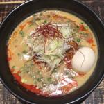 麺や 結 - 「担々麺(味玉付)」@900(税込)