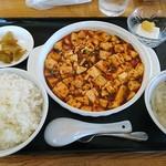 115845393 - 麻婆豆腐セット734円