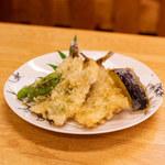 駒季 - 沖ウルメの天ぷら