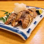 駒季 - カツオのハランボ塩焼き