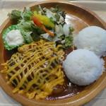 Zao Boo - チーズハンバーグプレート1150円