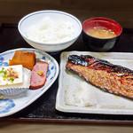 花水木 - 焼き魚定食 ( 鯖 ) 2019/09/17
