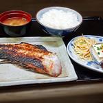 花水木 - 焼き魚定食 ( アコウダイ ) 2019/09/17