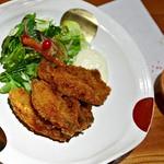 瓢箪の花 - 料理・牡蠣フライ