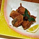 瓢箪の花 - 料理・河豚の唐揚げ