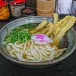 資さんうどん - 料理写真:ゴボ天うどん[¥430]
