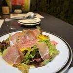 たか濱 - 生ハムとチーズのイタリアンサラダ
