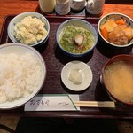 たまき - 小鉢三品定食