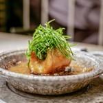 蓮心 - 料理写真:☆太刀魚と賀茂茄子の土鍋煮込み