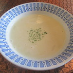 レストラン 西洋軒 - 嫁さんのスープが登場
