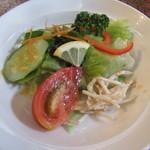 レストラン 西洋軒 - オイラのサラダ!