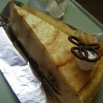 チーズケーキプリンセス岡崎カフェ - キャラメルファッジのチーズケーキ