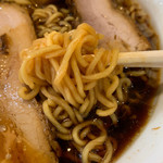 らーめんラブル - 黒ラーメン(乾麺)中盛