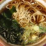丹波屋 - かけ蕎麦大盛り280円