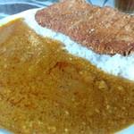 Indoresutoranarajin - インドカツカレー。