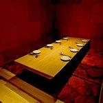 銀座MUN - 座敷席の完全個室です。