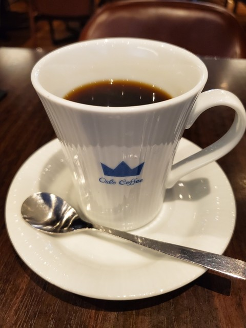 オスロ コーヒー 麻布十番店 - キング(深煎り)コーヒー。