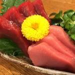 ニュー丹波 - 料理写真:本マグロ造り 1,000yen