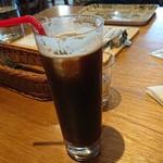 ワインと薪料理の店 piano - アイスコーヒー