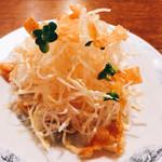 ごはんや麦 - 料理写真:定食のサラダ