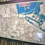 115877565 - 壁に古地図が!江戸の町?