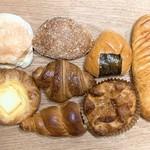 パンの実 - 料理写真:今回買ったパン