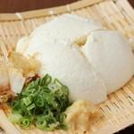 酒と魚菜 さかもと - 手造り豆腐