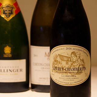 約120種の世界のワインのほか、定番のドリンクもございます◆