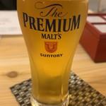 宮崎の台所 あかね屋 - 生ビール