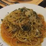 11589017 - シチリアの郷土料理 いわしパスタ