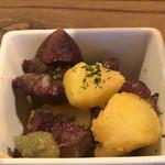 ダ・オッジ - 砂肝とジャガイモのフリット