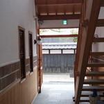 果物小町 - 2階への階段