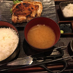 115899753 - 大山鶏の香味刺身ステーキ定食(880円)