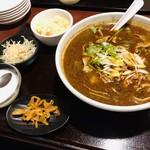 115900002 - 麻辣刀削麺?または、坦々刀削麺