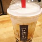 ツインズクレープ - 沖縄黒糖ミルクタピオカドリンク