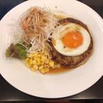 コロンブス - 料理写真:エッグハンバーグランチ(¥853)