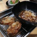 天ぷらさいとう - 牡蠣の天ぷら