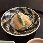 弁慶 - 紅ずわい蟹の湯葉揚げ