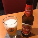 シンズキッチン - インドビール キングフッシャー 500円(税込)