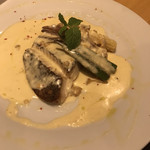 ワイン屋バフェット - 鮮魚(鯛)のソテーグラタン仕立て