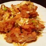上海老飯店 - 油淋鶏