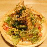 115910100 - 京都産九条ネギと淡路島産玉葱サラダ
