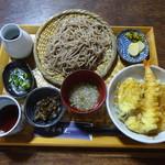 115911768 - ミニ天丼と並盛そば1300円
