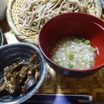 天草蕎麦処 苓州屋 - 小鉢とそば粥