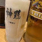 神鶏 - ドリンク写真:キンキン生ビール