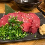 神鶏 - 料理写真:馬刺し