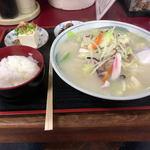 九州一番 - 料理写真:ちゃんぽん定食(950円)