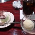 叙々苑 - デザート&アイスコーヒー