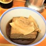 115916315 - 190919木 埼玉 いづみや第二支店 肉豆腐250円