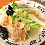115916317 - 190919木 埼玉 いづみや第二支店 野菜炒め450円